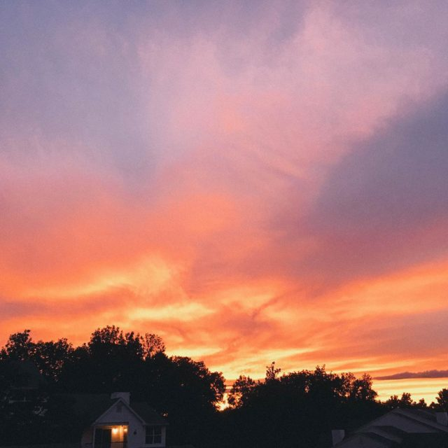 The sunset last night was absolutely stunning and now Ihellip