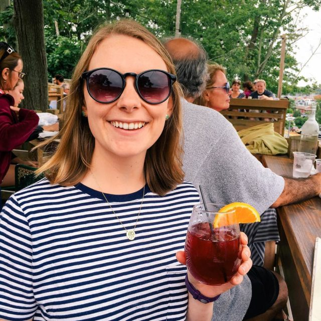 Rang in 24 with sangria in one hand and ahellip
