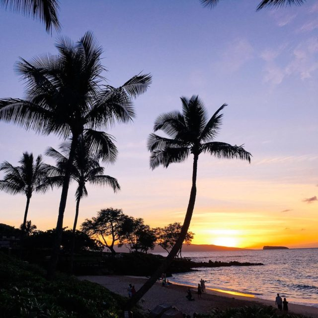 Cherish every sunset  hawaii tbt