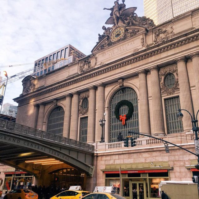 Grand Central is gorgeous even when its freezing outside manhattanhellip